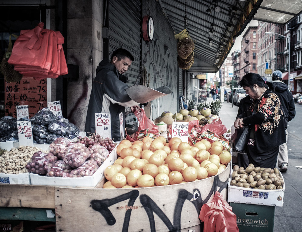 341 - Produce in Chinatown