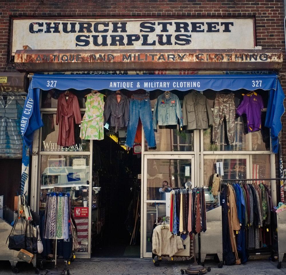 175 - Church Street Surplus   #366Project #FujiX100