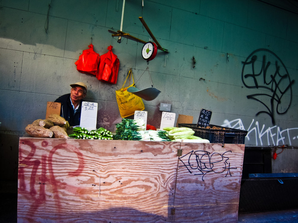 114 - Vegetable Stand in Chinatown   #366Project