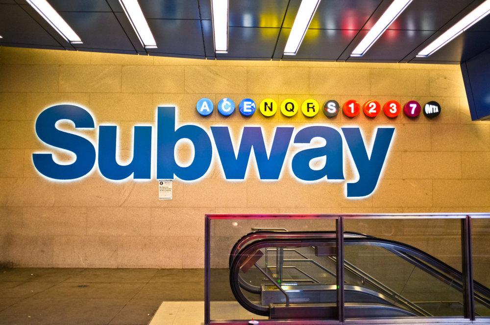 101 - Subway   #366Project #FujiX100