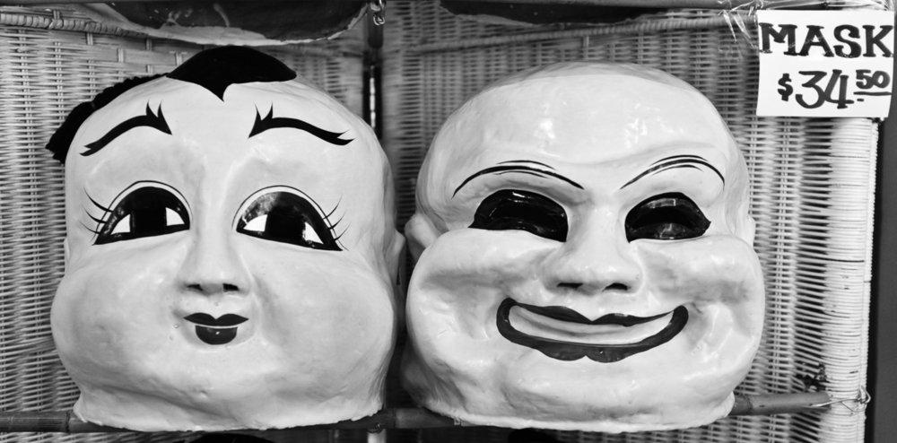 66 - Pearl River Masks   #366Project #FujiX100