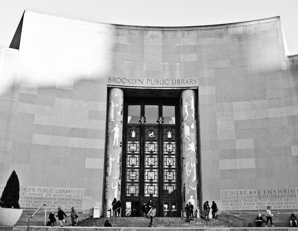 62 - Brooklyn Library   #366Project #FujiX100