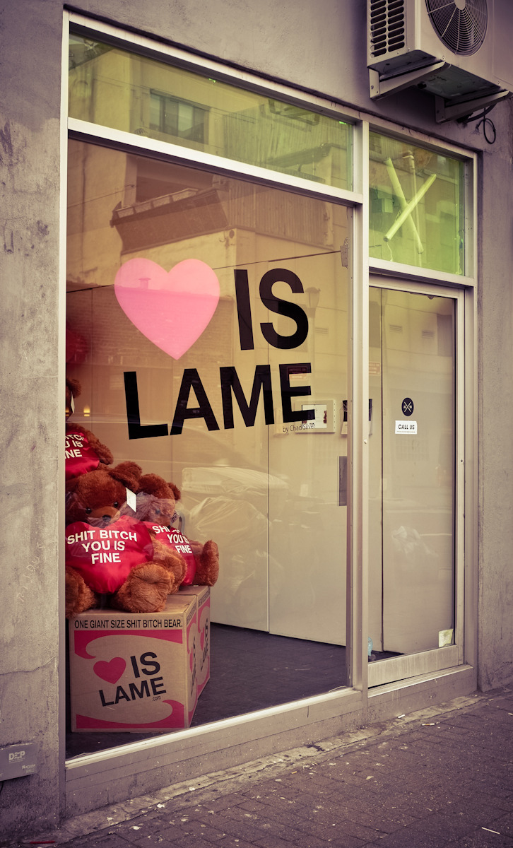 46 - Love Is Lame   #366Project #FujiX100 #loveislame