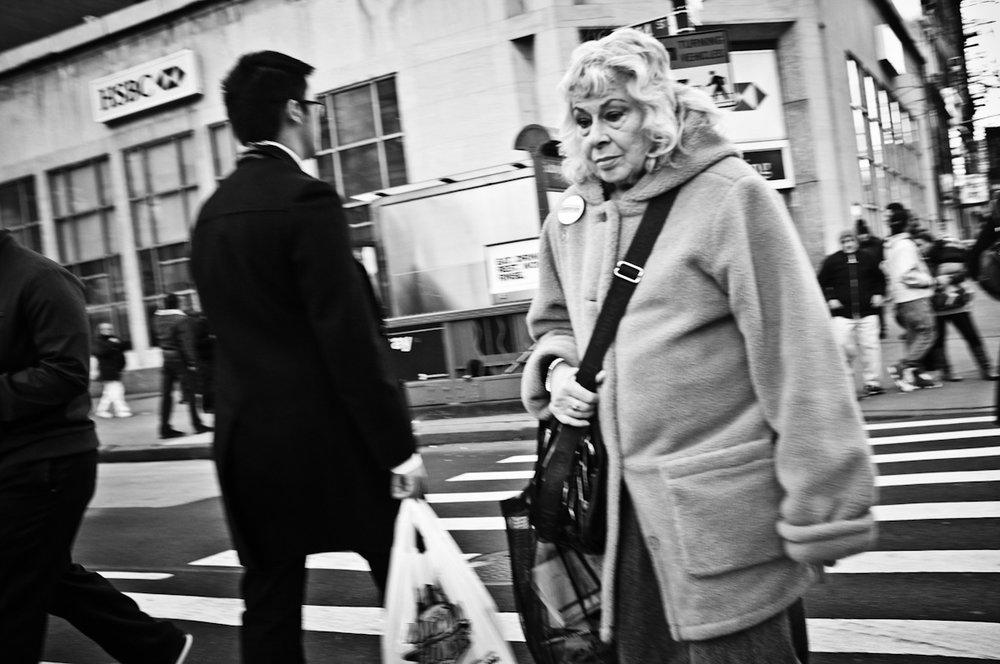 28 - Crosswalk, NYC   #FujiX100 #366Project