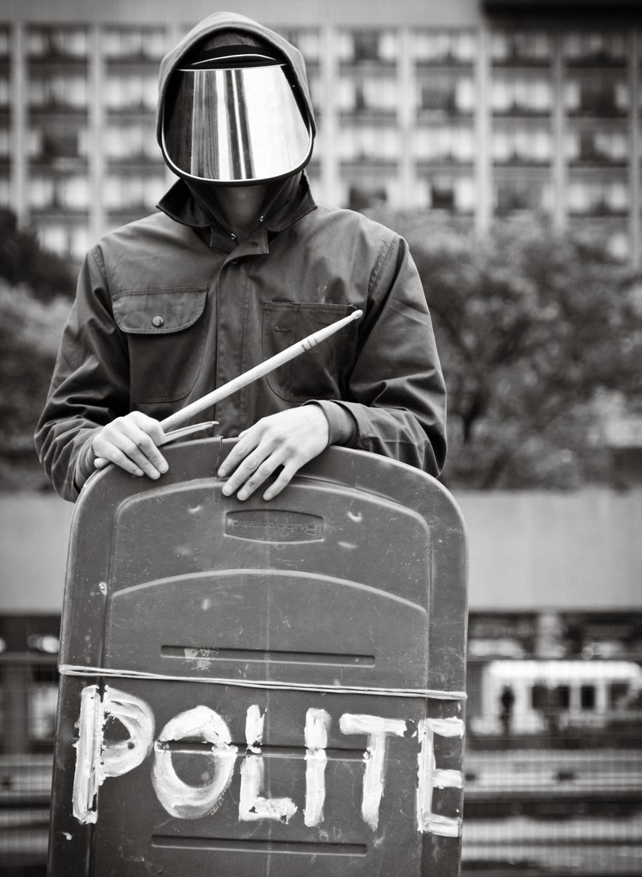 Polite. Occupy Toronto