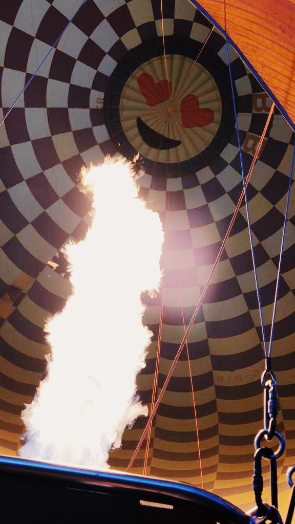 hot air ballon turkey