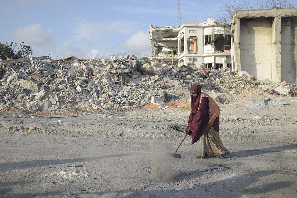 Cleaning Somalia