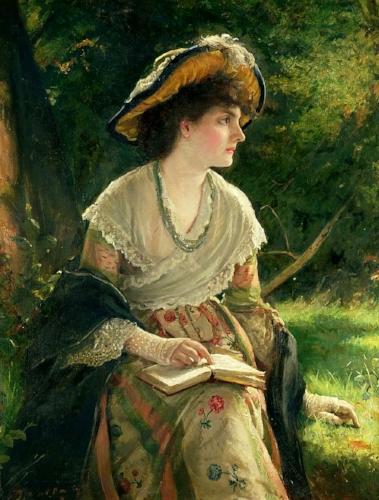 Robert James Gordon, Woman Reading