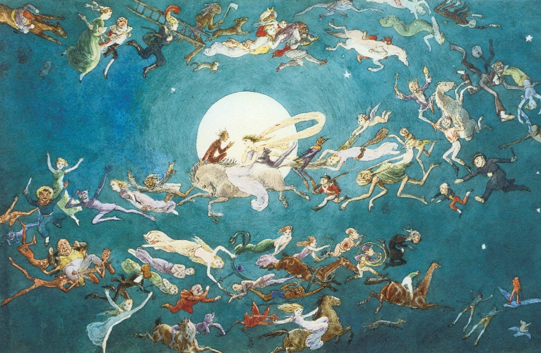 Charles Altamont Doyle, A Dance Around the Moon