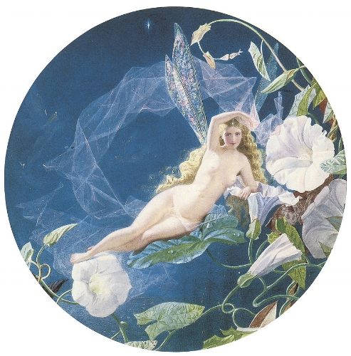 John Simmons, Fairy Lying on a Leaf