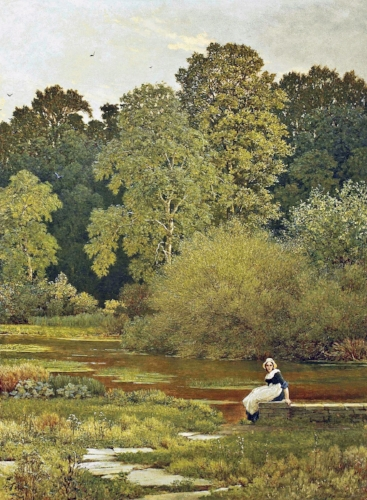 George Dunlop Leslie, Riverside, Wallingford, Berkshire