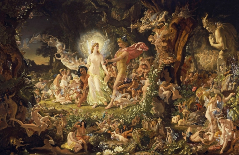Sir Joseph Noel Paton, The Quarrel of Oberon and Titania