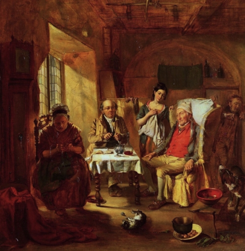 William Powell Frith, The Family Lawyer
