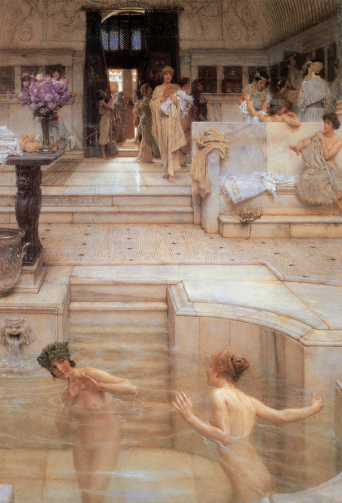 Sir Laurence Alma-Tadema, A Favourite Custom