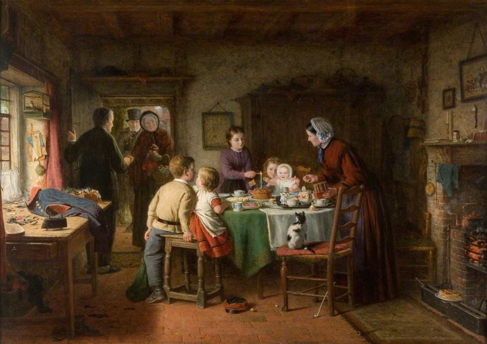 Frederick Daniel Hardy, The First Birthday Party