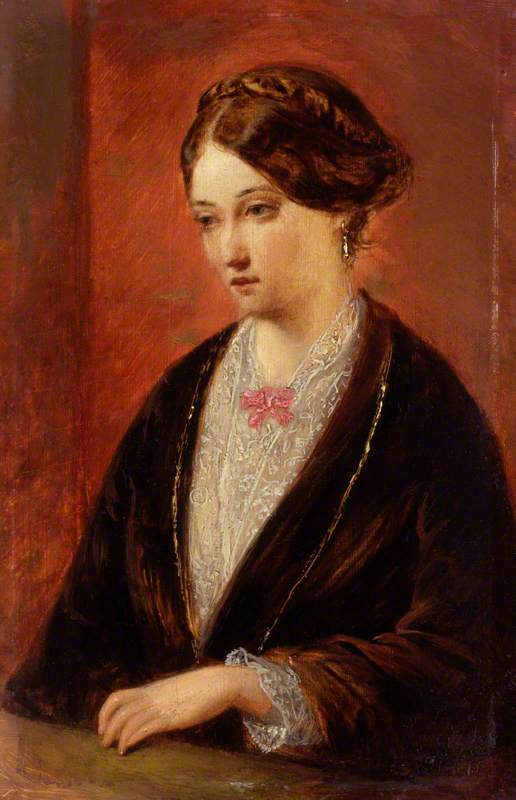 Augustus Leopold Egg, Unknown Woman