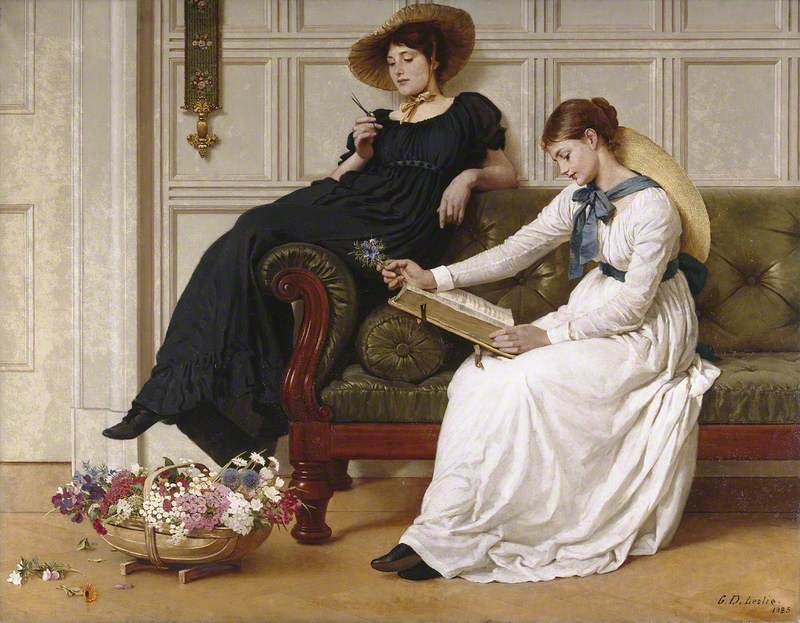 George Dunlop Leslie, The Language of Flowers