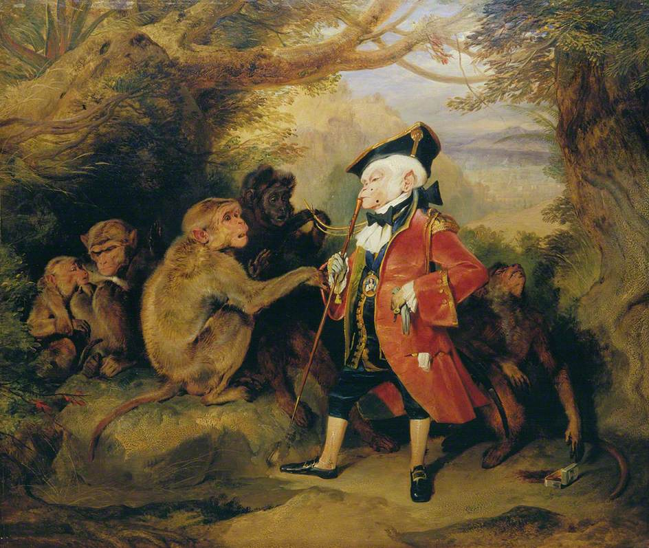 Sir Edwin Henry Landseer, The Travelled Monkey
