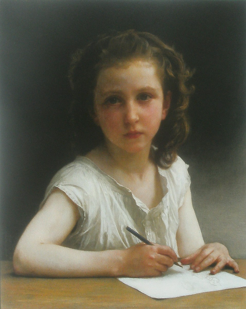 William-Adolphe Bouguereau, Une Vocation