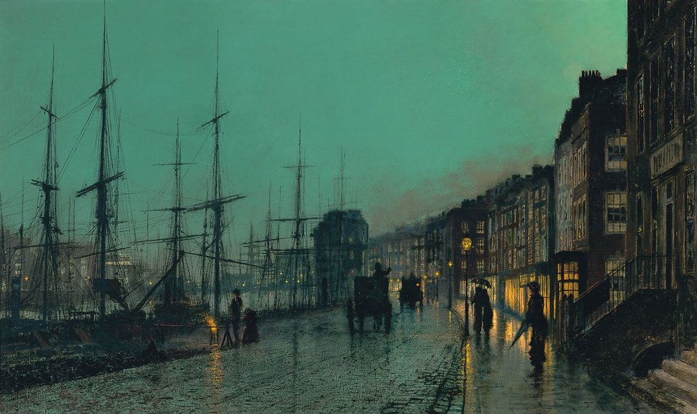John Atkinson Grimshaw, Shipping on the Clyde