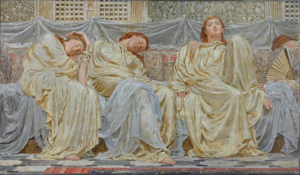 Albert Joseph Moore, The Dreamers