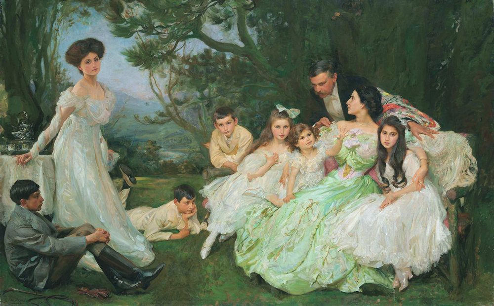 John Henry Frederick Bacon, The Golden Butterfly, The Harvey Family