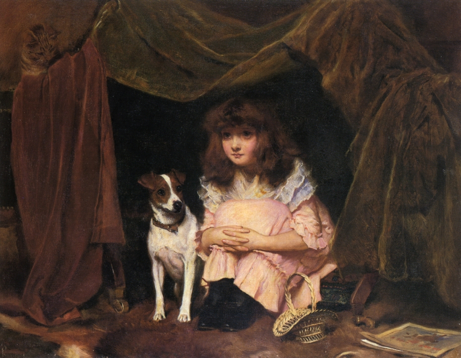 Charles Burton Barber, The Hiding Place
