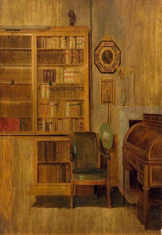 Sir David Wilkie, A Bookcase