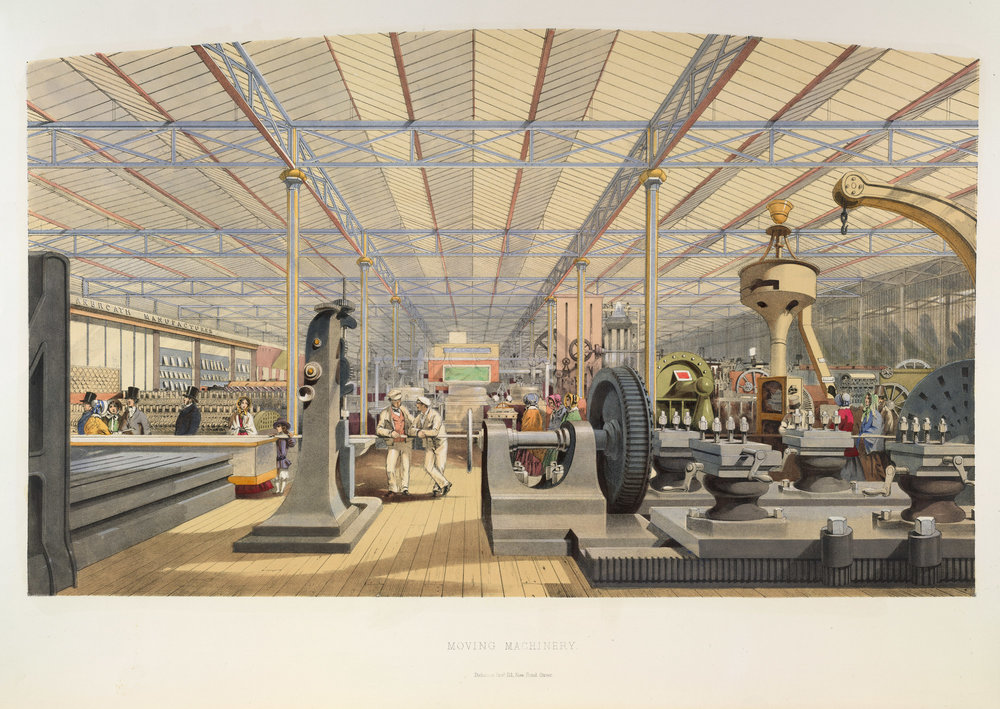 From Dickinson's Comprehensive Pictures of the Great Exhibition of 1851