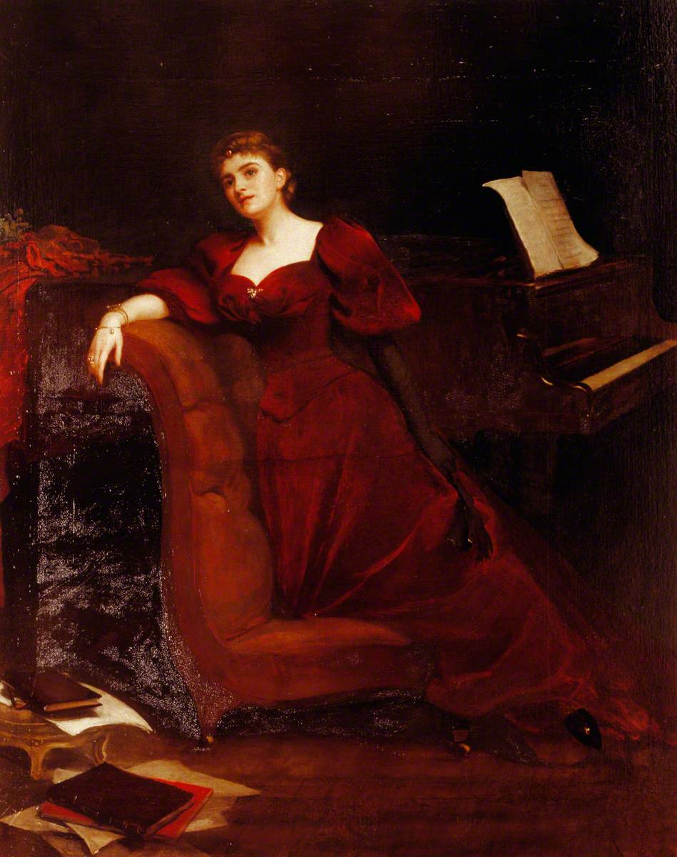 Archibald J. Stuart Wortley, Lilian Eldée