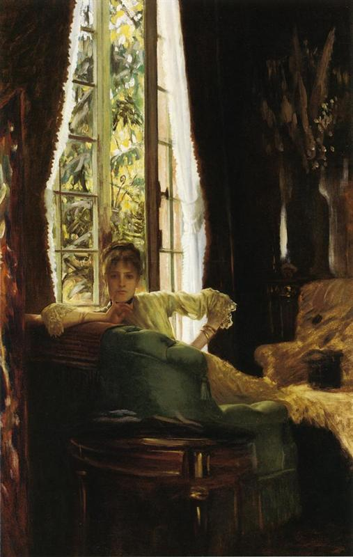 James Jacques Joseph Tissot, Woman in an Interior