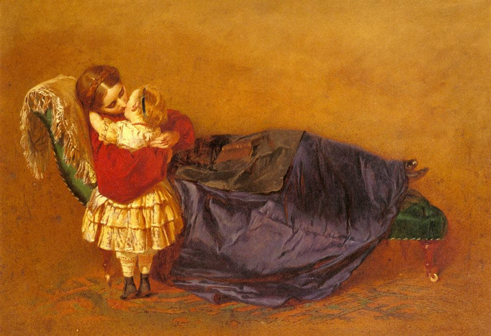 George Elgar Hicks, Mother and Child