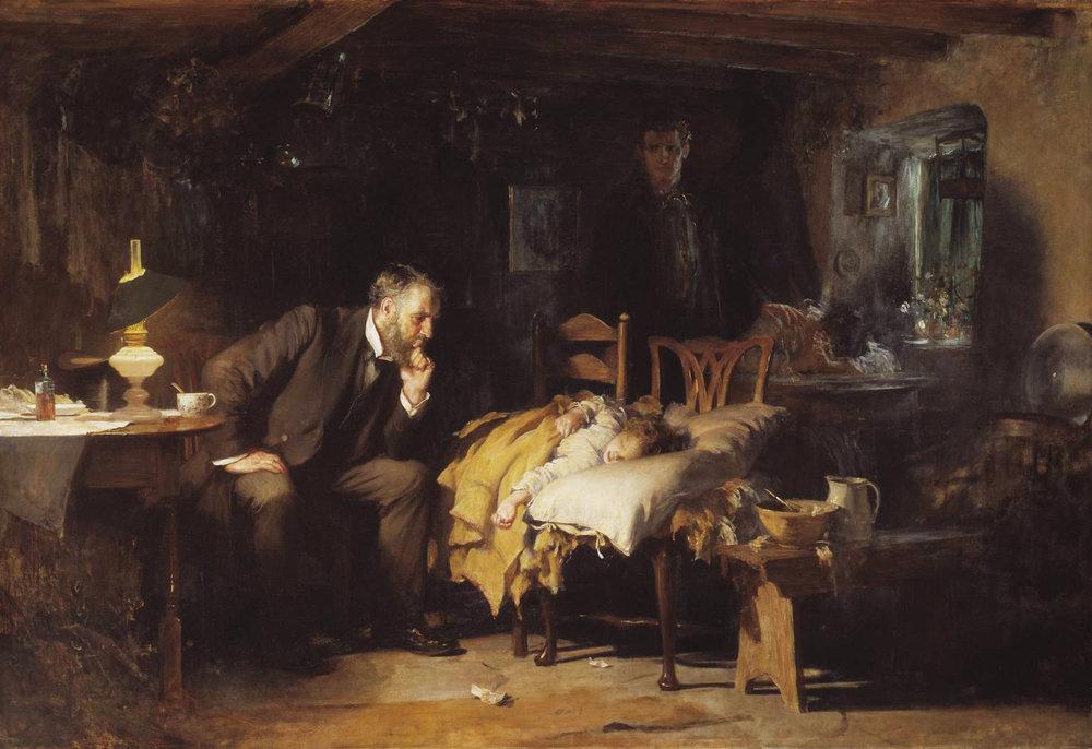 Sir Luke Fildes, The Doctor