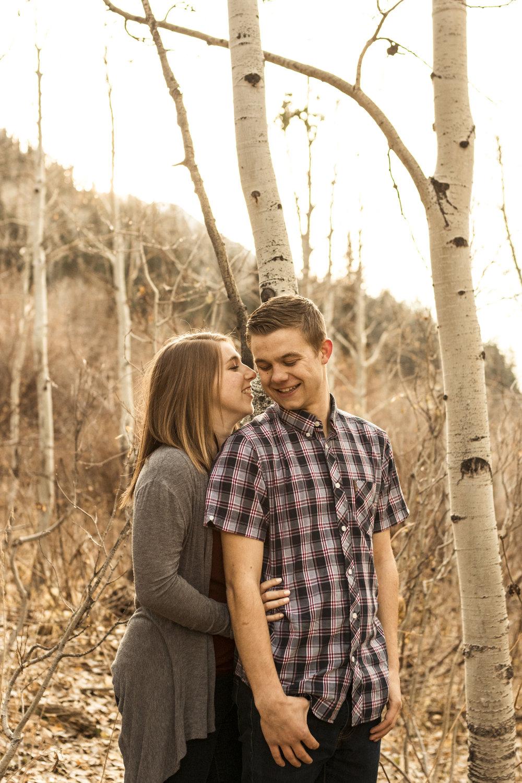 BBPhotoLittle Cottonwood CanyonUtah Fall Engagements03.JPG