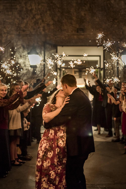 BBPhoto_Utah Winter Wedding_sparkler exit.JPG