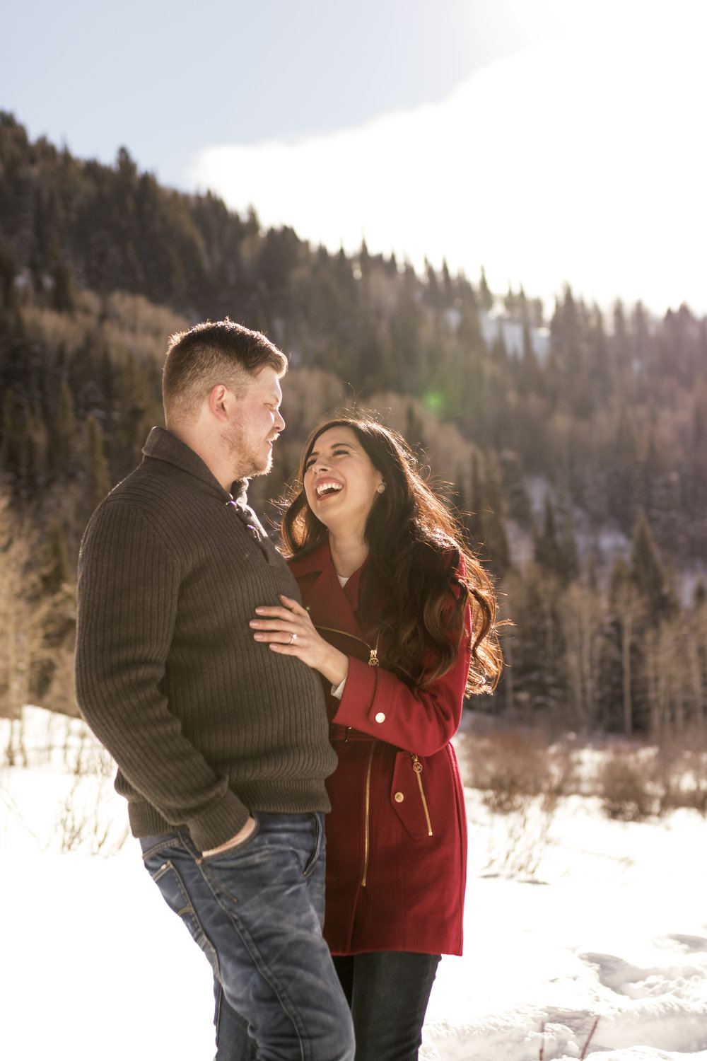 Snowey Utah Winter Engagements in Little Cottonwood Canyon by Bri Bergman Photography07.jpg