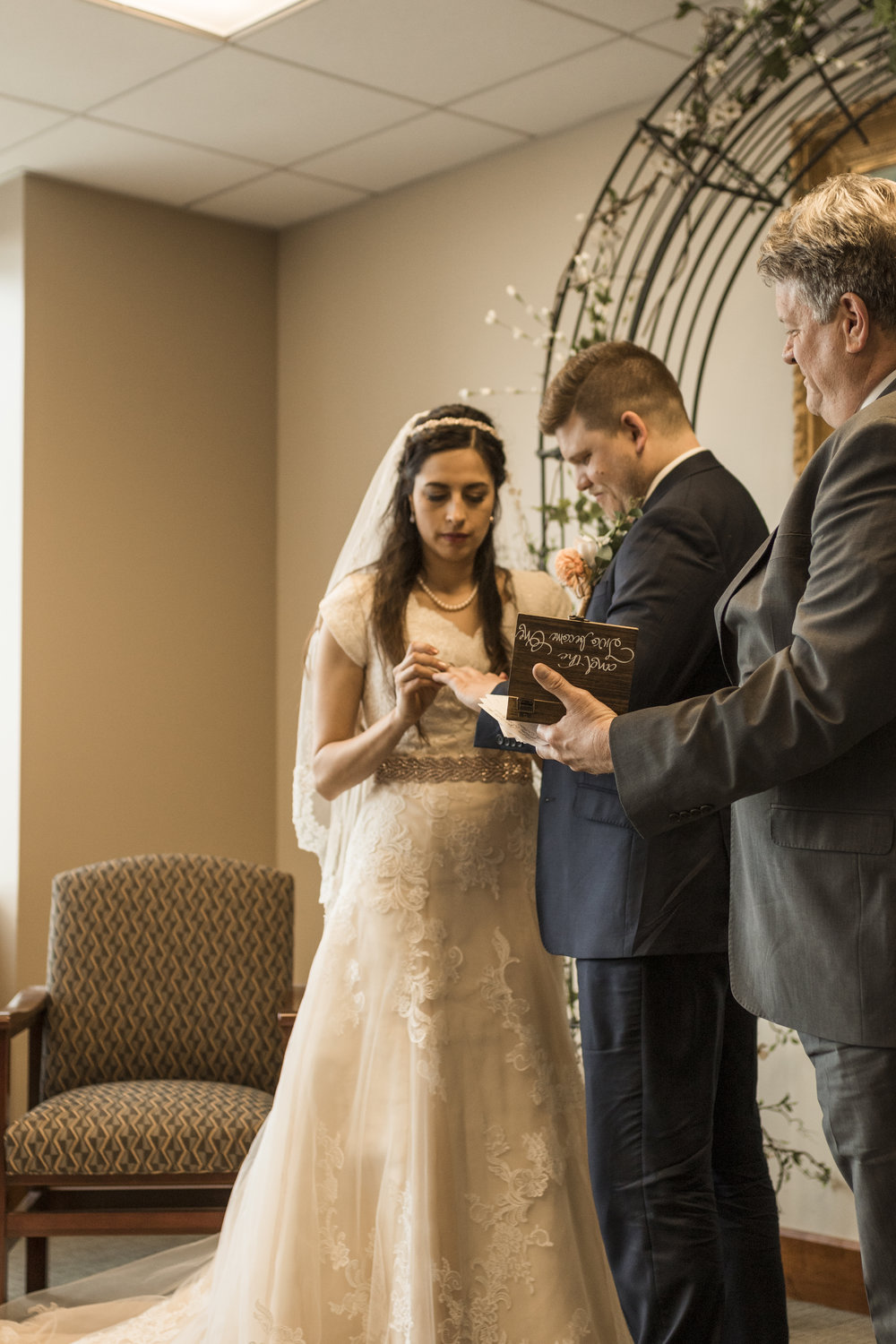 Ring Ceremony in the Zions Bank Founders Room by Bri Bergman Photography02.JPG