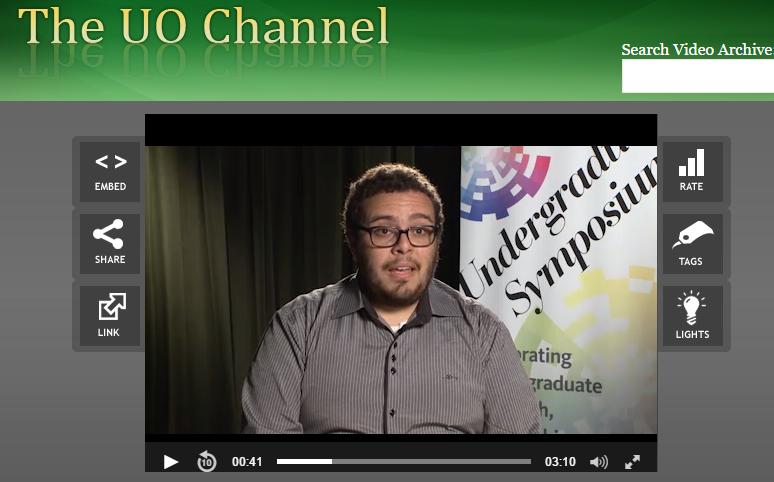 2017 Undergraduate Symposium - Student Interview -