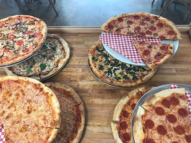 Slices for everyone and every taste! #uky #lunchtime #bestpizzaintown #madewithlove