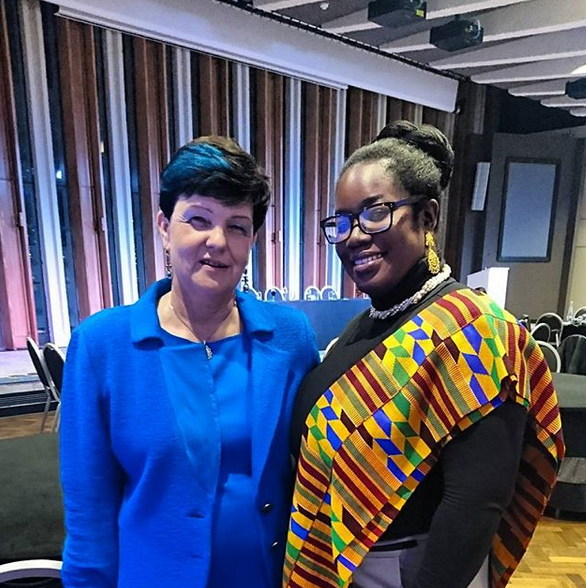 NATWEST BUSINESS BANKING/NATIONAL BLACK WOMENS NETWORK EVENT IN LONDON   KEY NOTE SPEAKER BARONESS NEVILLE-ROLFE & JAMAICA IN THE EU FOUNDER AKOSUA OSEI-LOUE