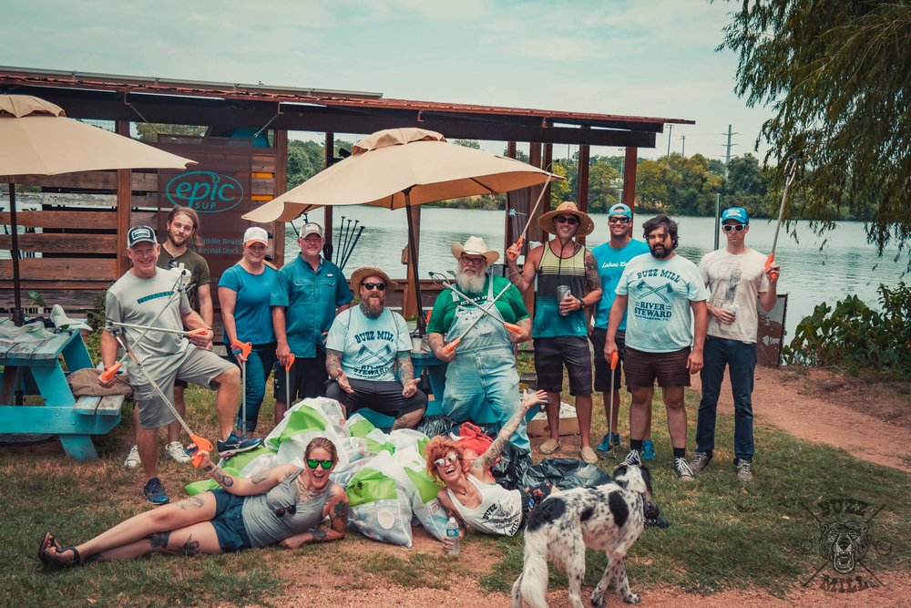 Buzz Mill, Austin TXAugust 6th, 2017 - Austin River Clean Up