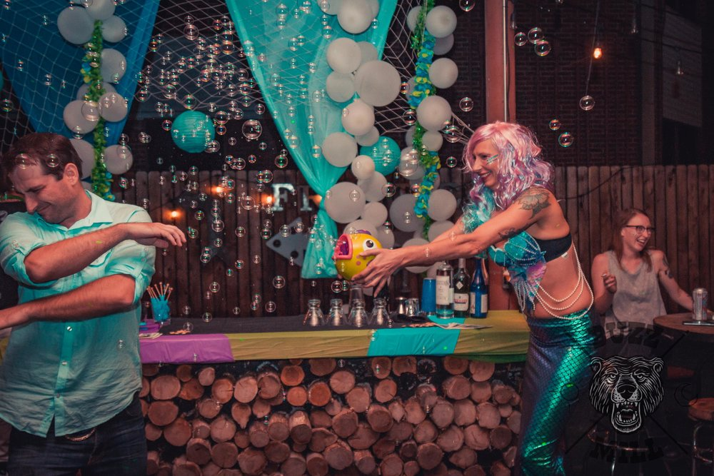 Buzz Mil, San marcos txSeptember 9th, 2017 - San Marcos annual mermaid bar crawl