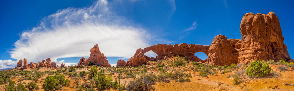 Window Arches Panorama