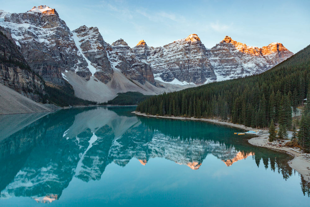 Moraine Lake Morning