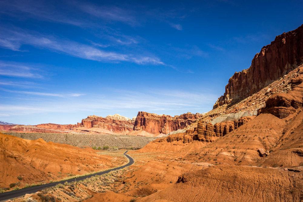 Toward Canyonlands National Park