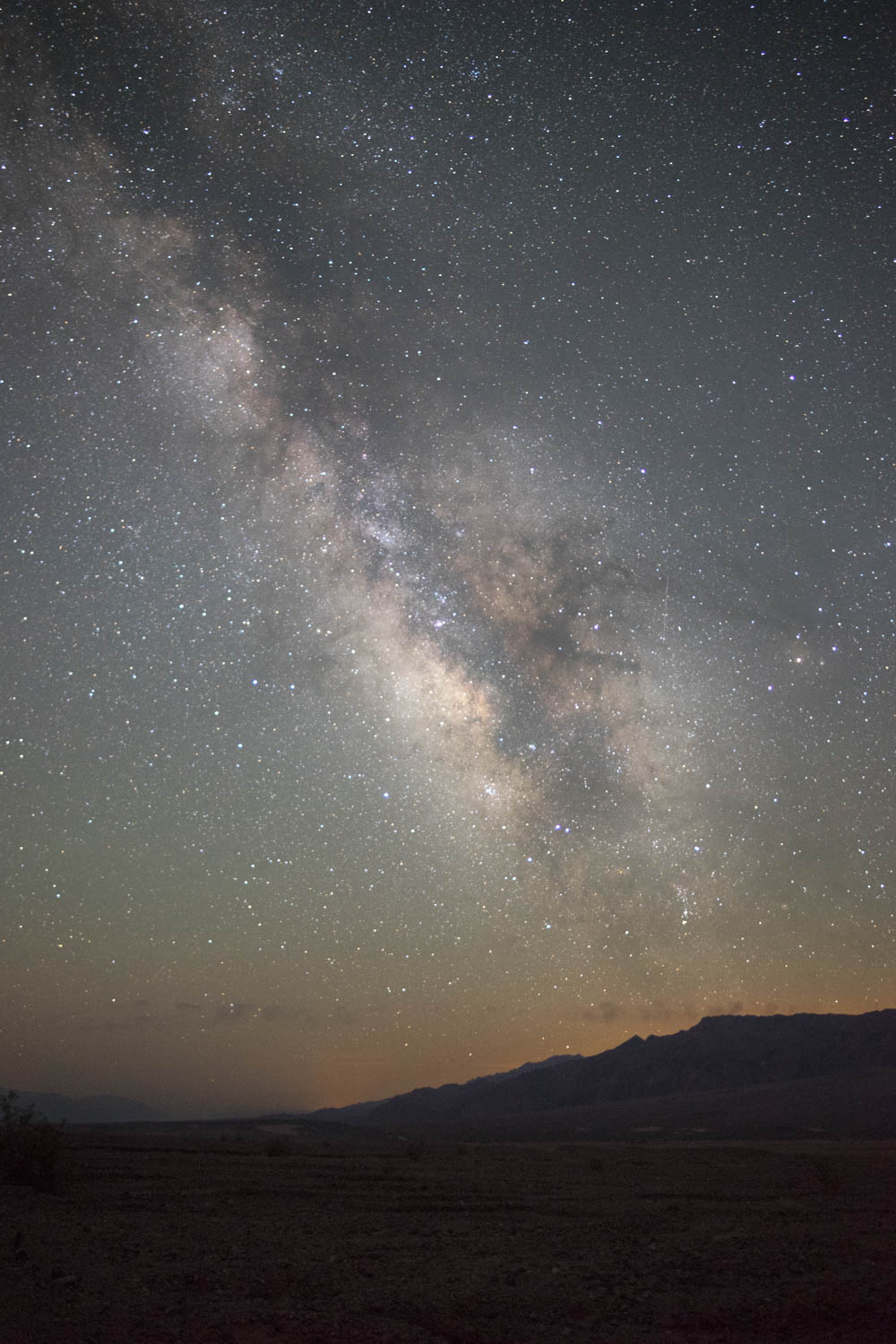 Death Valley  Milky Way