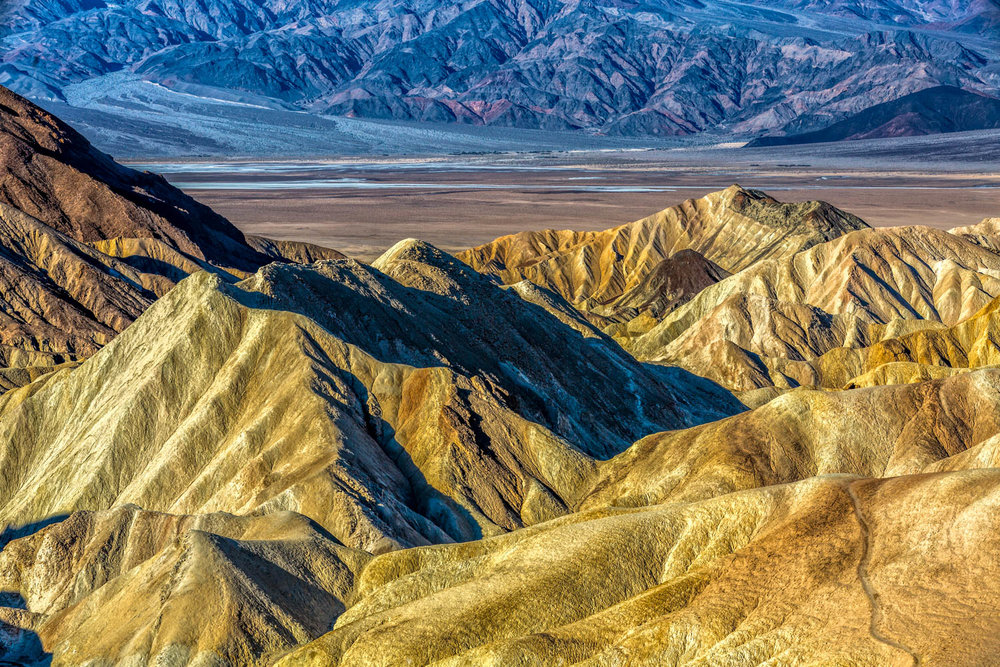 Colorful Rocks at Zabriskie Point