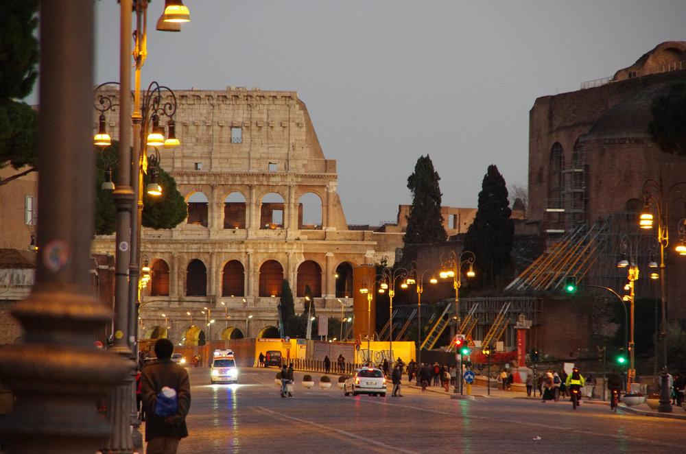The Colleseum, Rome, Italy