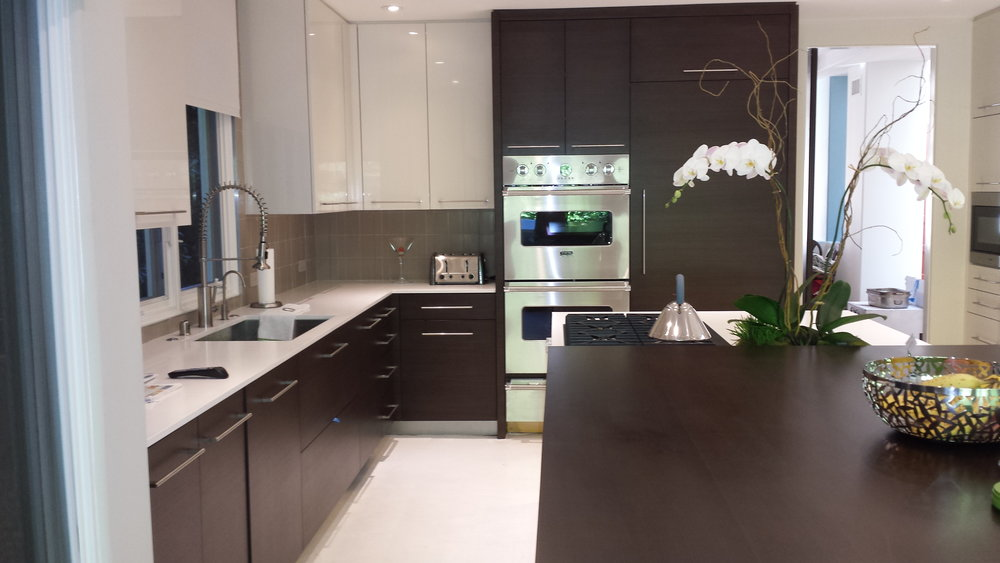 Modern Kitchen with Ceaserstone Countertops.jpg
