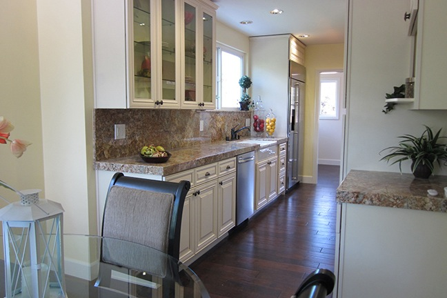 Classic Country Full Backsplash & Built-in Fridge.jpg